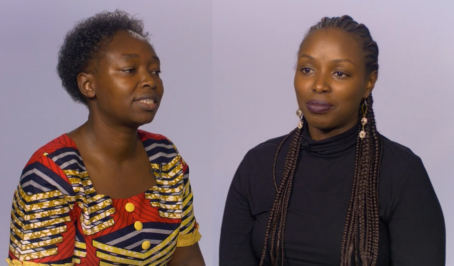 Student Spotlight: Cleniece Owino & Christine Maina