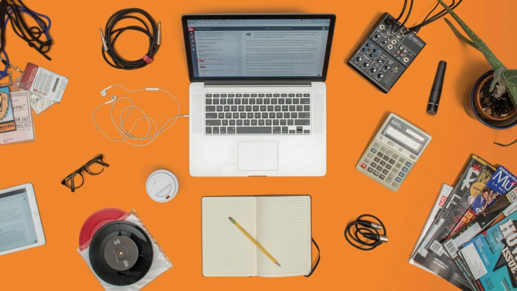 Music Business and Music Production Desktop