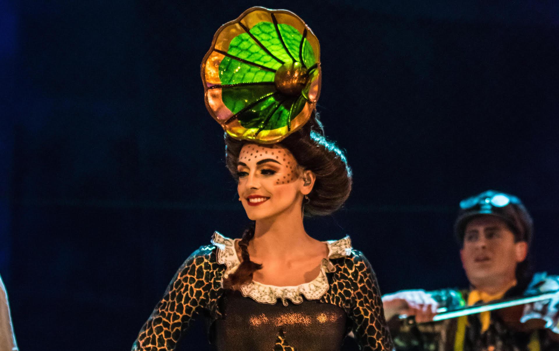 Cirque Du Soleil vocalist Eirini Tornesaki
