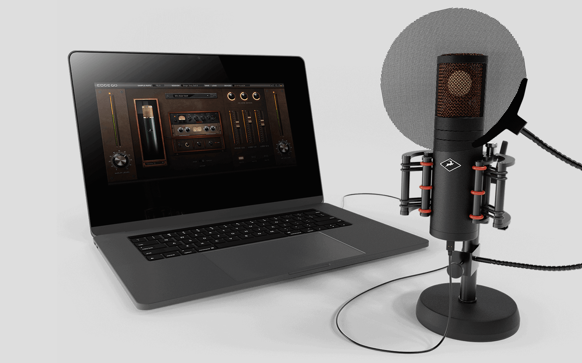 Edge Mic from Antelope Audio and Mic Modeling Software Review