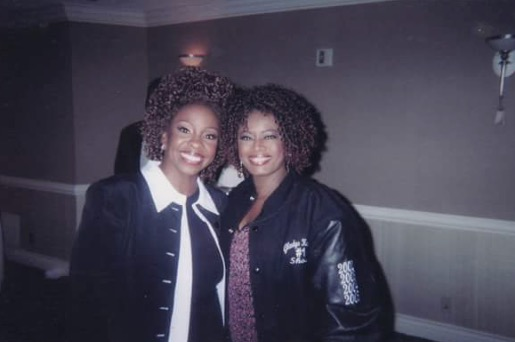 Regina Brown-Ross and Gladys Knight.