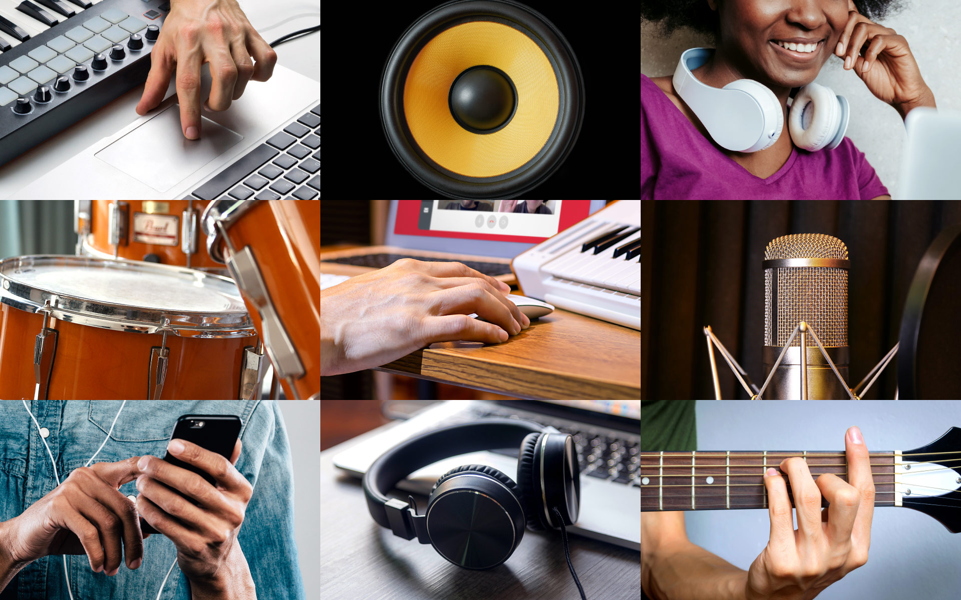 A wide range of courses are available at Berklee Online
