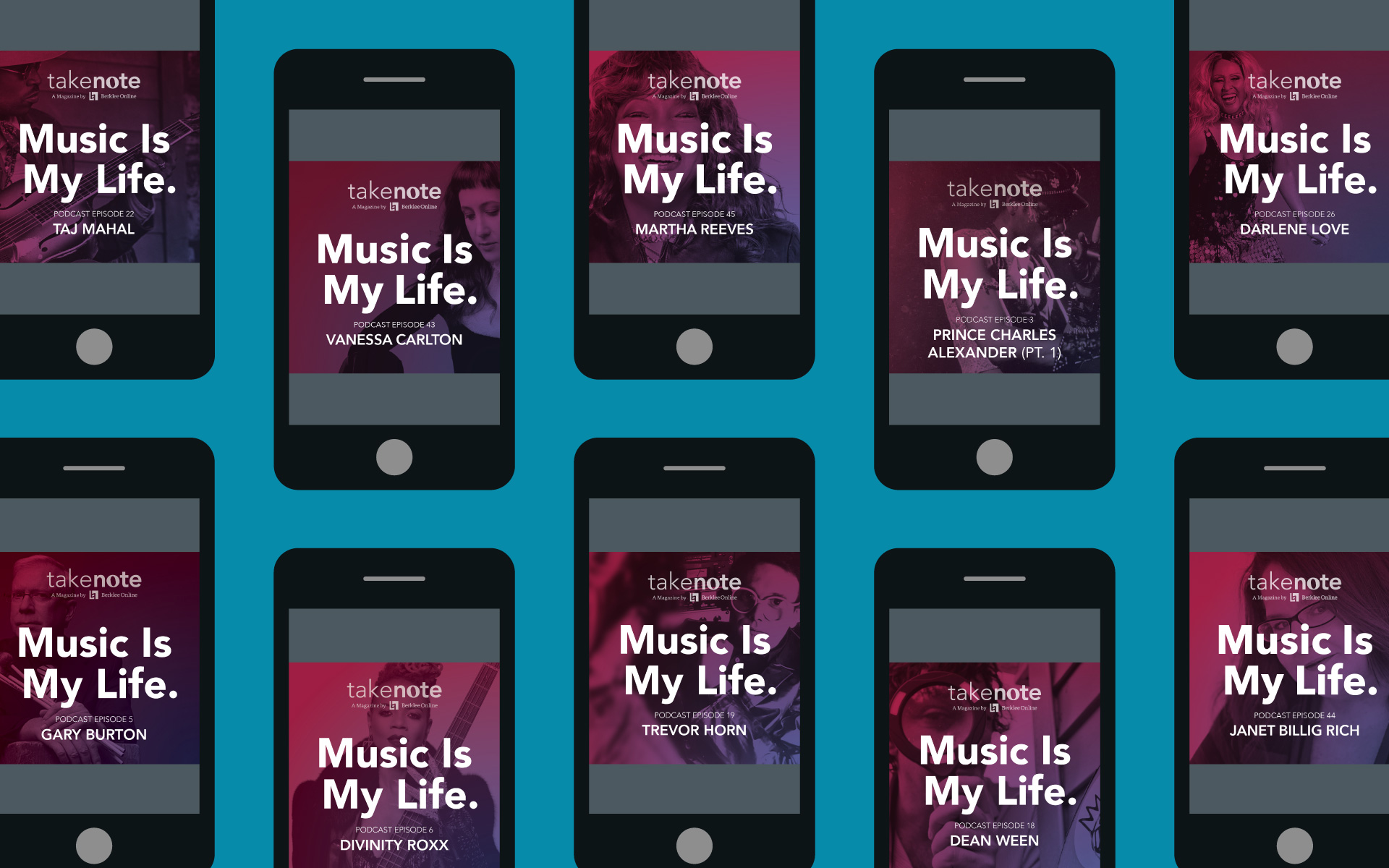10 Must-Listen 'Music is My Life' Podcast Episodes