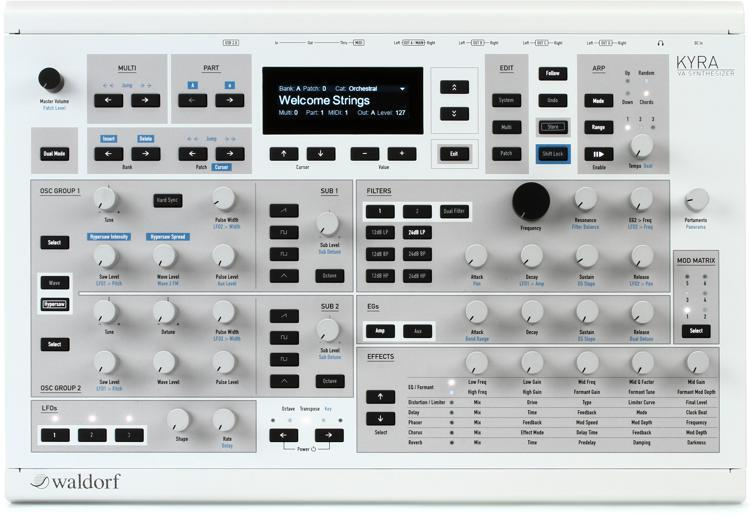 Waldorf Kyra Synth Module Demo and Review
