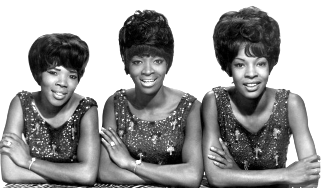 Martha Reeves and the Vandellas are pictured in a 1960 publicity photo.