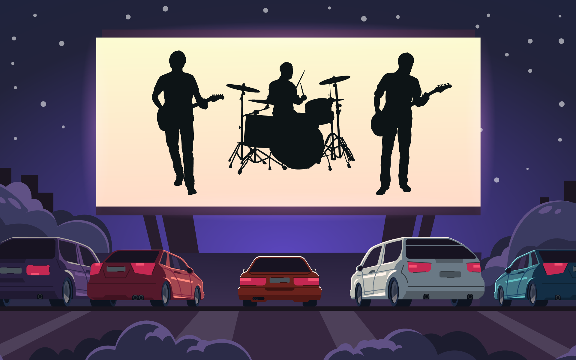 Drive-In Concerts: Can They Bridge Social Distance?