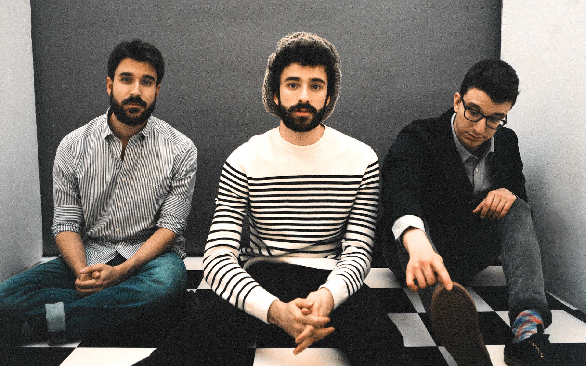 AJR members Ryan, Jack, and Adam Metzger