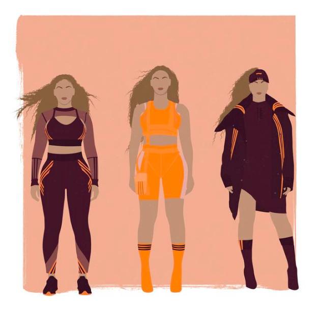 Beyonce IVY PARK by Tebello Mosenene.