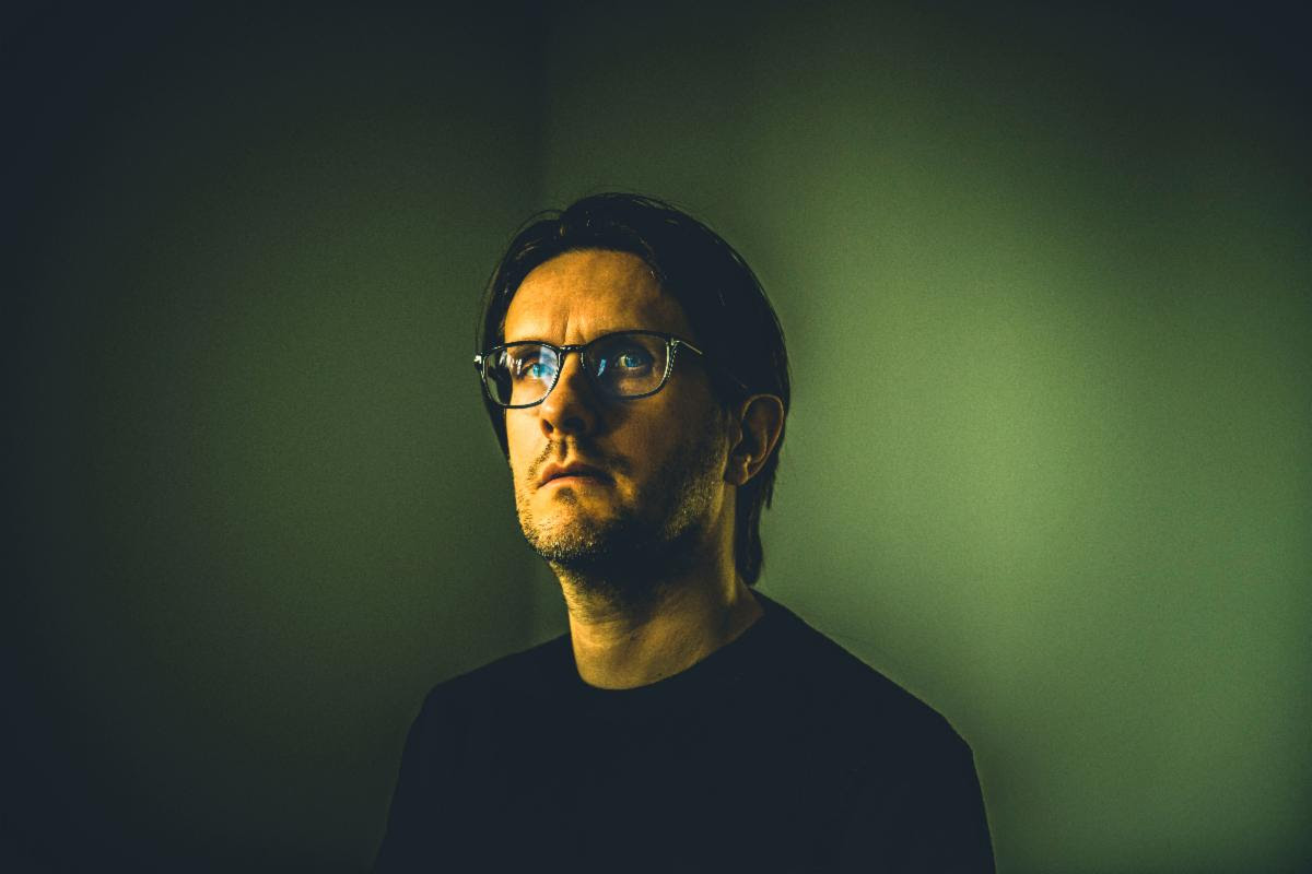 Steven Wilson is pictured in this shot by Lasse Hoile