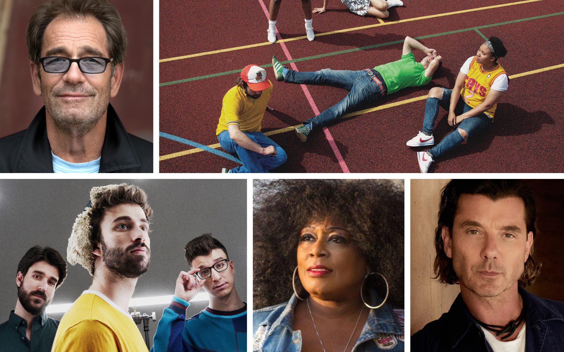 Huey Lewis, The Go! Team, AJR, Lady A, and Gavin Rossdale